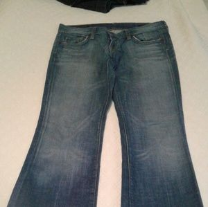 Boot cut jeans size 30